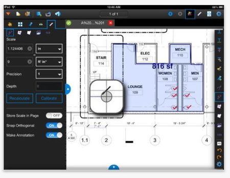 01 - Bluebeam's updated Revu 2 for iPad offers new features like measurement calibration, PDF form filling and more.