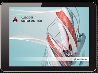 01 - AutoCAD 360 is new and designed for the brand new A7 based iPad Air and iPad mini with Retina display technology from Apple. (image courtesy of Autodesk, All rights reserved)