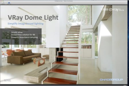 01 - V-Ray for SketchUp 2.0 includes a new Dome Light for dramatically simplified setup of image-based lighting (IBL). This is one of three major features we discuss in detail in this article.