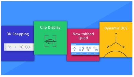 01 - The four new interesting features added to version 16.2 for BricsCAD latest release.