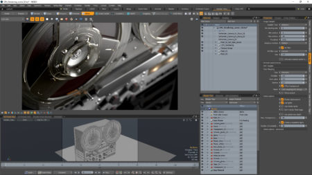 02 - Image shows the new V-Ray for MODO and this one focusing on CPU bound rendering.