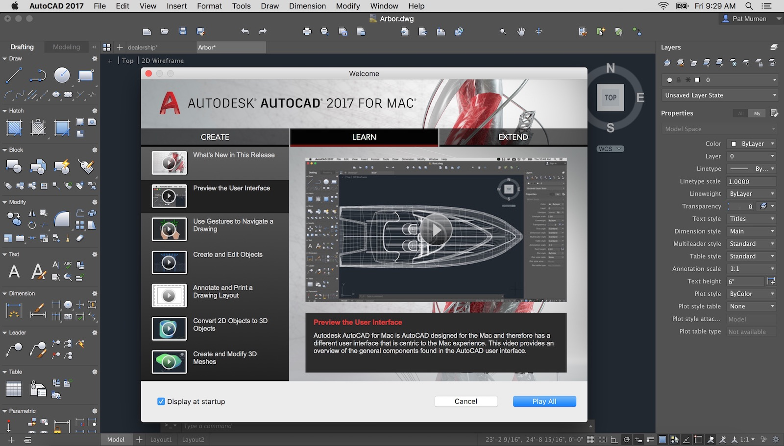 02   AutoCAD 2017 For Mac And The LT Version Feature A Robust Start Up