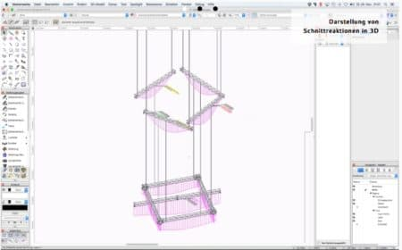 01 - Braceworx is software from Germany and is an add-on to the popular Vectorworks Spotlight BIM/CAD software used in theater and stage design, among other uses.