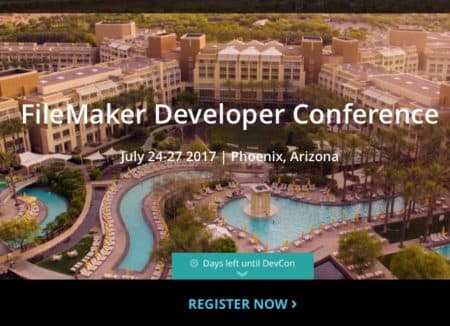 01 - FileMaker DevCon 2017 is in Arizona this summer. It's going to be hot but engaging!