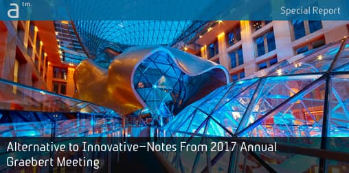 Alternative to Innovative—Notes From 2017 Annual Graebert Meeting