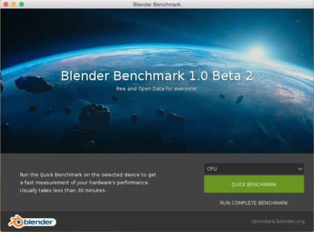 Blender Open Data Benchmark