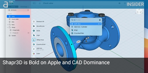 INSIDER: Shapr3D is Bold on Apple and CAD Dominance